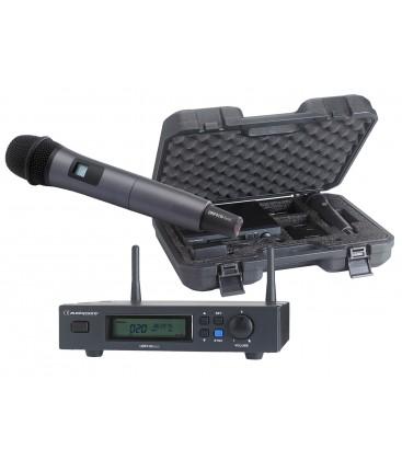 AUDIOPHONY Draadloze Vocal set UHF True Diversity PACK-UHF410-HAND