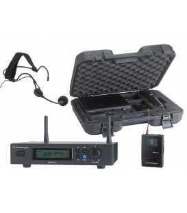 AUDIOPHONY Body-Pack Head-set UHF True Diversity PACK-UHF410-HEAD