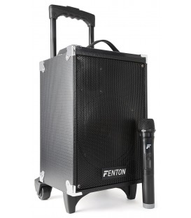 "Portable Sound System 8"" BT/MP3/USB/SD/VHF Fenton ST050"
