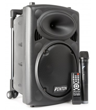 "Portable Sound System 10"" BT/VHF/IRC Fenton FPS10"