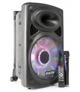 "Portable Sound System 12"" BT/VHF/IRC/LED Fenton FPS12"