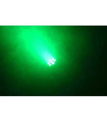 Mini Moving Head Wash 7x 10W Quad LED DMX Zwart beamZ MHL74