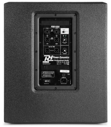 Actieve Subwoofer 15'' Power Dynamics PD615SA