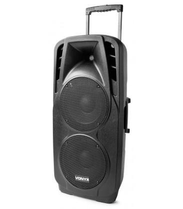 "Mobiel Geluidsysteem ABS 2x 10"" Vonyx SPX-PA9210"