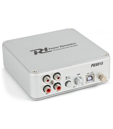 Phono Voorversterker met Software Power Dynamics PDX015 USB