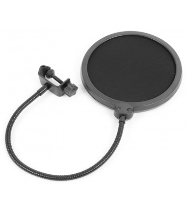 Studio Set/Condensator microfoon met tafel arm en popfilter Vonyx CMS400