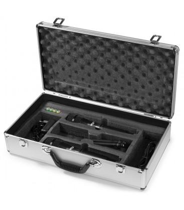 PD632H 2x 20-Kanaals UHF Draadloze microfoonset met 2 handmicrofoons