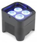 LED Battery Uplight Par 4x 10W beamZ BBP94