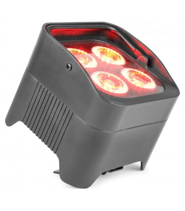 LED Battery Uplight Par 4x 10W beamZ BBP94