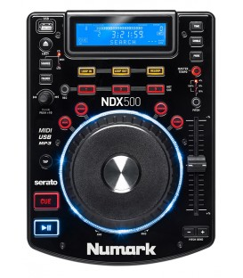 Single Top CD/MP3/USB Speler Midi Controller Numark NDX 500