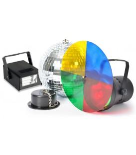 Disco Partyset met Stroboscoop beamZ