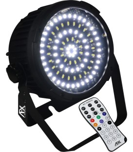 Verhuur 6x Krachtige LED stroboscoop/blinders 48W in flightcase + statief met winch PER DAG