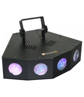 Mini 4 Head Moon LED beamZ