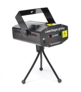Mini Laser Rood-Groen+Gobo beamZ LS-FF08