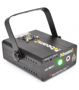 Laser Rood Groen Gobo DMX beamZ LS-RG11