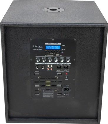 "CUBE15A-ARRAY 2.1 SOUND SYSTEM 15"" SUB & 2 ARRAY IBIZA"