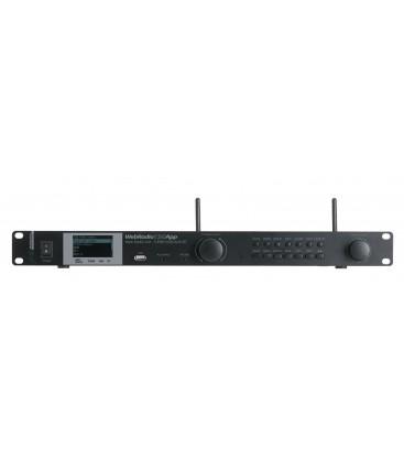 WEBRADIO130APP Audiophony Ethernet Wi-Fi DAB+ Multimediaspeler