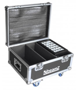 Flightcase FL2 voor 2 stuks Star-Color 240 of Star-Color 360 wash lights