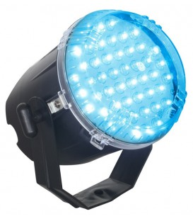 Stroboscoop 48 x 8mm Blauwe LED's beamZ