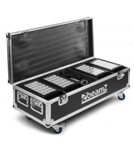 Flightcase FL4 voor 4 stuks Star-Color 240 of Star-Color 360 wash lights