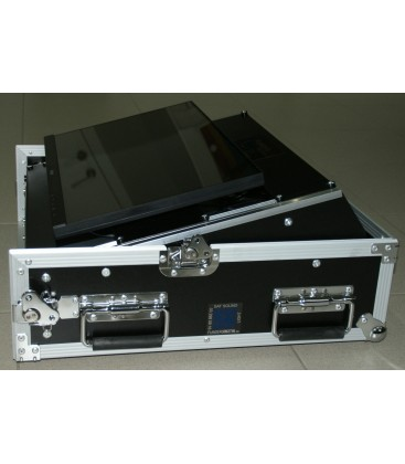 "TOUCH SCREEN PC 22"" 2 X Pioneer DVD Intel i7 8 x 3,0 Ghz in Flight Case"