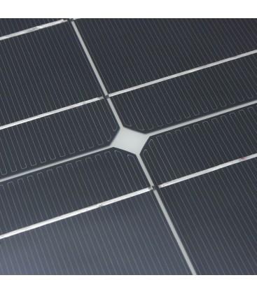ZONNEPANEEL FLEXIBEL FLANDERS 100watt Mono-crystallijn cellen 105x54x0,25cm