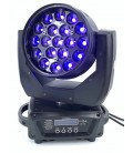 LED Moving Head Zoom 19 x 15W RGBW 4-IN-1 TMH-1915