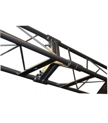 BEURSSTAND DECO TRUSS XL-200 TRIO ZWART 3,20 x 3,20m