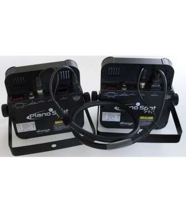 Power DMX kabel XLR M - XLR F & IEC M - IEC F 10m B01258