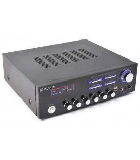 Stereo (Karaoke) versterker met MP3 Skytronic AV-120