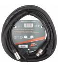 Power DMX kabel XLR M - XLR F & IEC M - IEC F 5m B01257