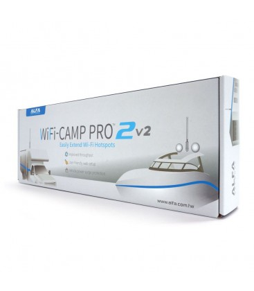 Alfa Network WiFi-Camp Pro2 v2 Set Tube N + R36A Router