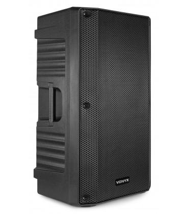 """Vonyx VSA12 Bi-Amplified Active Speaker 12"""" 800W"""