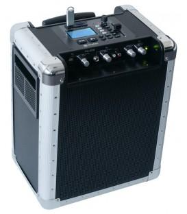 Draagbaar audio-systeem USB/SD/MP3 200watt + ACCU PA-200