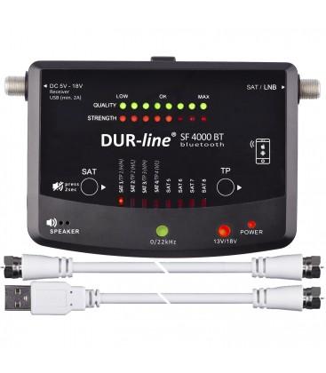DUR-line SF 4000 BT SATFINDER MET APP iOS & ANDROID