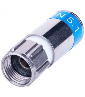 F-CONNECTOR COMPRES WATERDICHT PCT-TRS-9L-NT per 100 st