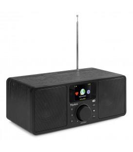 Rome WIFI Internet Stereo DAB+ Radio Black Audizio