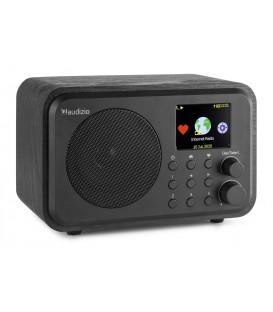 Venice WIFI Internet Radio with Battery Black Audizio