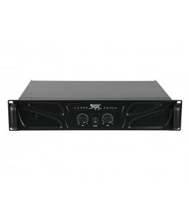 Professionele versterker Class AB 2 x 600watt RMS OMNITRONIC XPA-1200