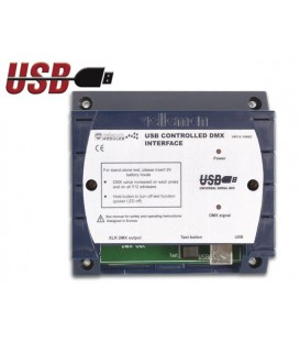 DMX CONTROLLER VIA USB 512 KAN. Velleman VM116