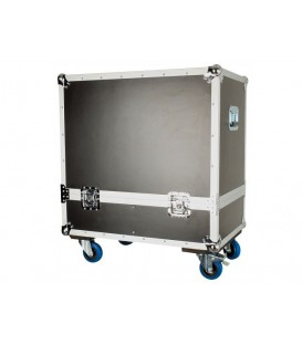 "Flightcase voor twee Top Speakers van 12 of 15"" D7580"