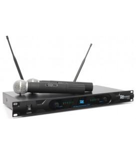 2-Kanaals UHF Draadloos Microfoonsysteem incl. 2 Mic. PD722H