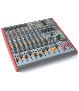 12-kanaals Stage Mixer MP3/DSP/USB IN/UIT PDM-S1203