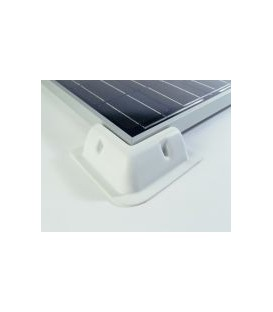 HOEKSTEUNEN voor zonnepanelen 4 stuks wit