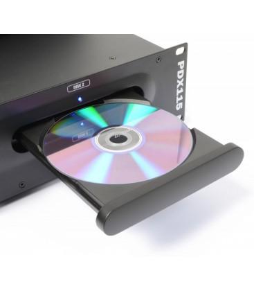 Tweedelige Dubbele Speler CD/SD/USB/MP3 Power Dynamics PDX115