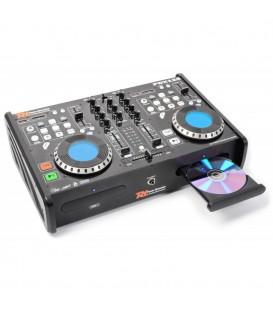 Dubbele Speler CD/SD/USB/MP3 Power Dynamics PDX125