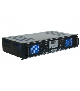 Versterker met MP3 en equalizer 1000watt Skytec SPL 1000MP3