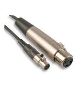 MINI XLR 3F - XLR 3F 1,5m MIC-SIG KABEL PSG02964