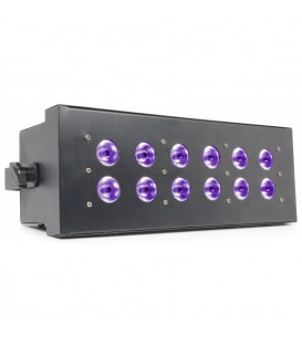 HI POWER BLACKLIGHT Strobo, Effect 12x 3W LED's BeamZ LCP-12UV