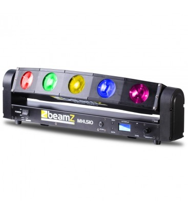 Color Sweeper 5x 10W Quad LED BeamZ Professional MHL510